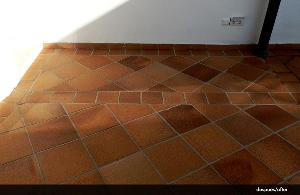 Suelos rusticos exterior fabulous baldosin catalan - Suelos rusticos exterior ...