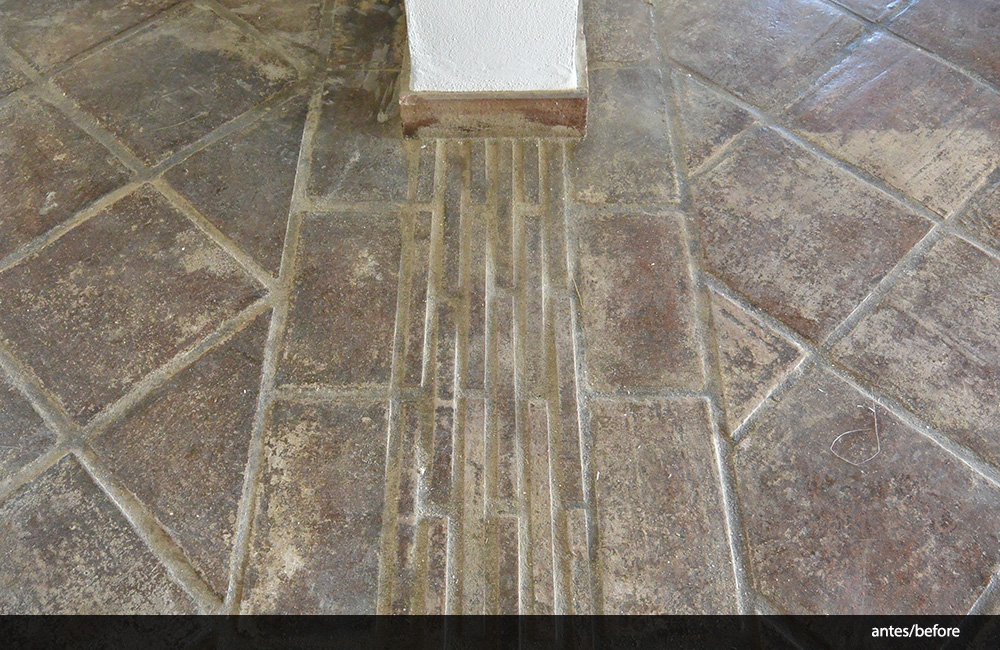 Como limpiar suelos de barro best limpiar suelos de barro for Abrillantar suelo porcelanico mate