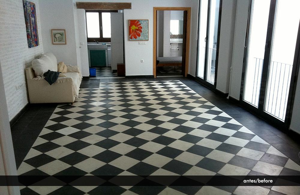 Limpieza de suelos hidr ulicos casco antiguo sevilla - Suelo hidraulico sevilla ...